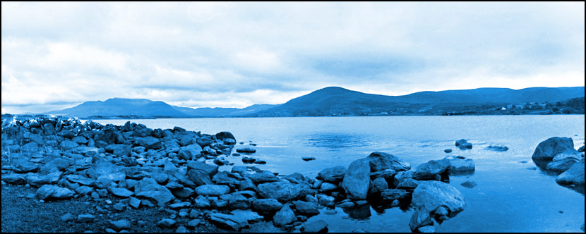 Irland, Kerry, Waterville, Lough Currane